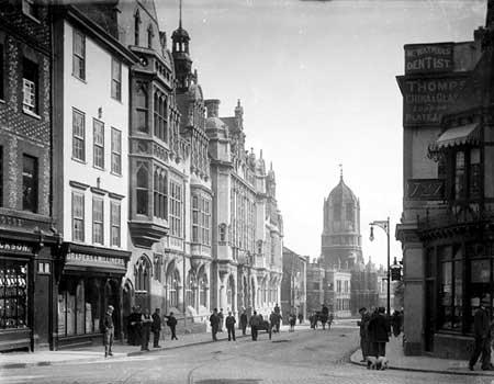 View Down St Aldates 1897- CC51 709 - Henry Taunt